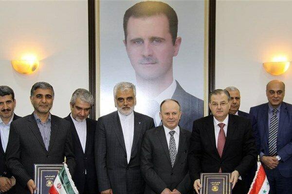 واحد علوم تحقیقات و دانشگاه دمشق تفاهمنامه همکاری امضا کردند