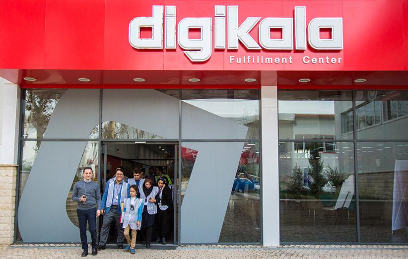 ۲۵% مردم ایران بصورت ماهانه از فروشگاه دیجیکالا بازدید میکنند