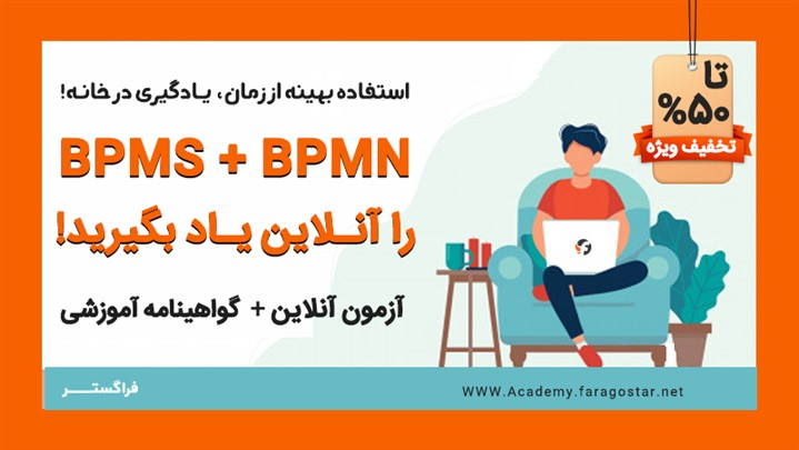 آموزش مجازی BPMN و BPMS با تخفیف ویژه