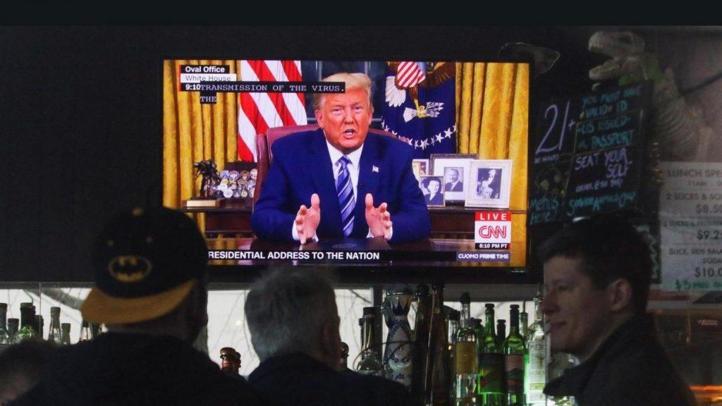 آمریکا +پرزیدنت دونالد ترامپ+کرونا ویروس