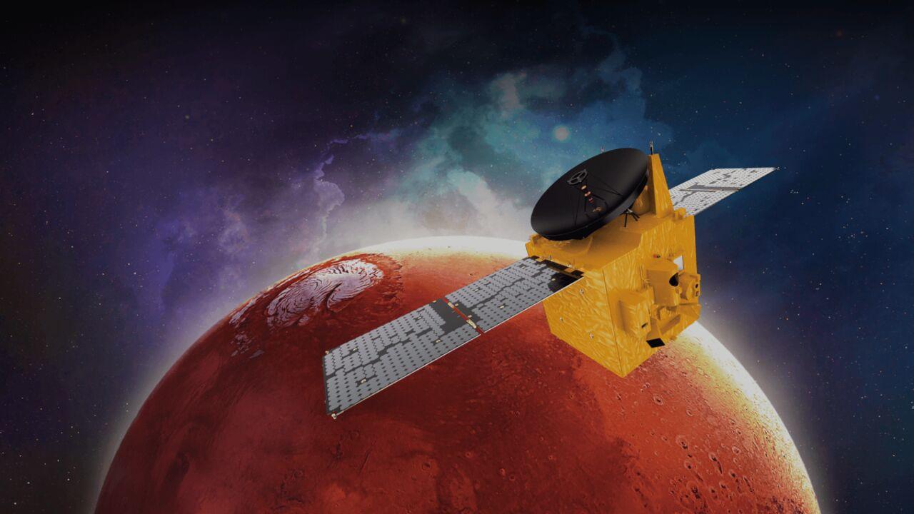 امل ؛ اولین فضاپیمای امارات به مریخ رفت