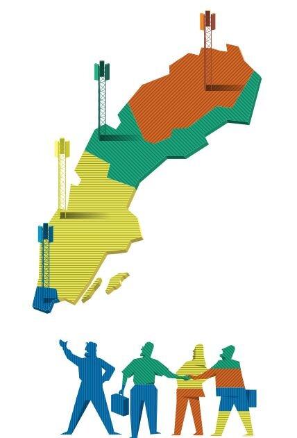 مشارکتکنندگان در حراج چند کالایی مانند باند فرکانس در بخشهای مختلف کشور اغلب میخواهند پیشنهادهای خود را برای یک «بسته» مطرح کنند. این موضوع، طراحی حراج را به ویژه اگر فروشنده بخواهد مانع همدستی پیشنهاددهندگان در پایین نگهداشتن قیمت شود، پیچیدهتر میکند.
