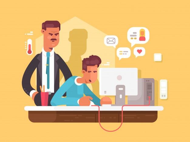 چگونگی ارتباطات بین مدیر و کارمند